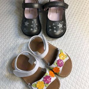 Two pairs of darling 7 M & 8 M  Nina & Okie Dokie